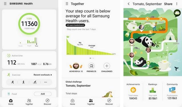 Samsung Health - Best Fitness Tracker App