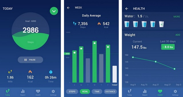 Step Counter - Best Fitness Tracker App