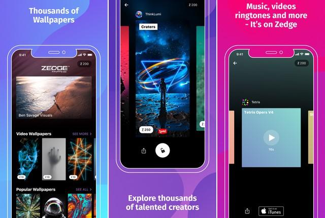 Zedge - Ringtone app for iPhone