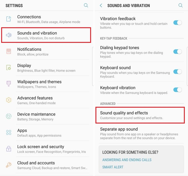 customize the Audio Profile on your Galaxy S8