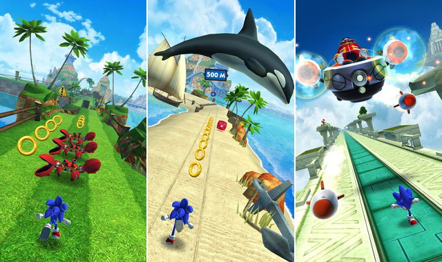 Sonic Dash - Best Platformer Game