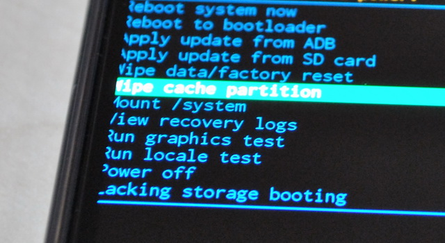 Wipe Cache Partition on Samsung Galaxy S6