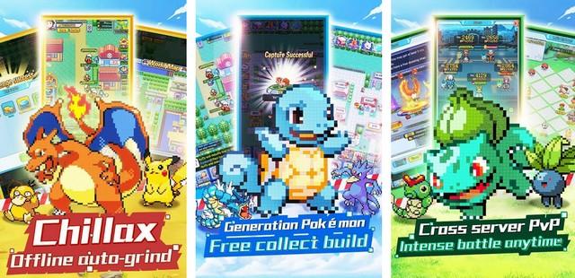 AFK Pixel Alliance - Best Pokemon Game