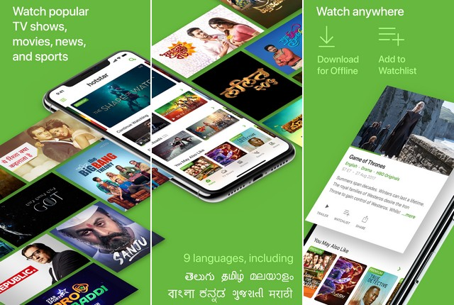 Hotstar - Best Movie App for iPhone