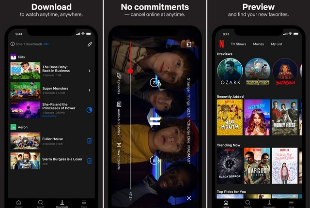 Netflix - Movie App for iPhone