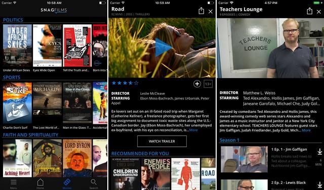 Snagfilms - Movie App