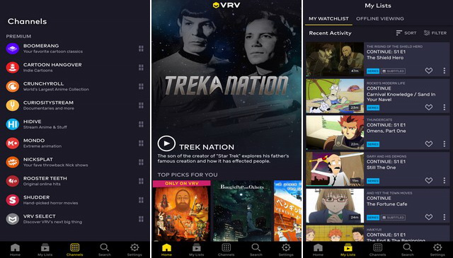 VRV: Different All Together