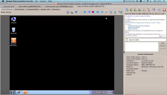 Bomgar Remote Desktop