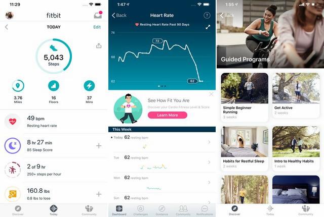 Fitbit - Sleep Tracker App