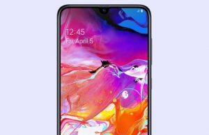 How to Take a Screenshot on Samsung Galaxy A70