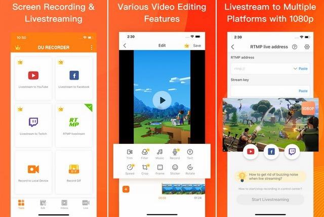 DU Recorder - Screen Recording App