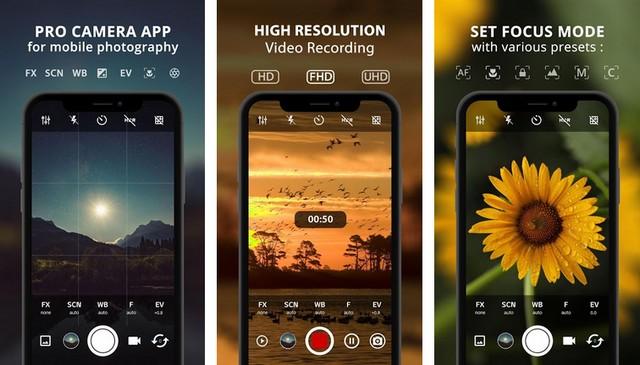 ProCam X - Best Photography App