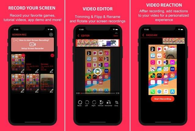 Rec for iPhone - Screen Recording App