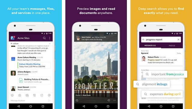 Slack - best Work from Home app