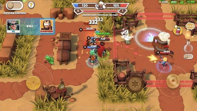 West Legends - 3V3 Team Battle