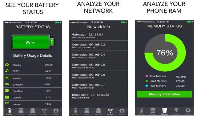 Battery Saver - Wifi Analyzer