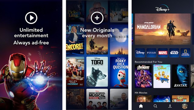 Disney+ Best App for Android