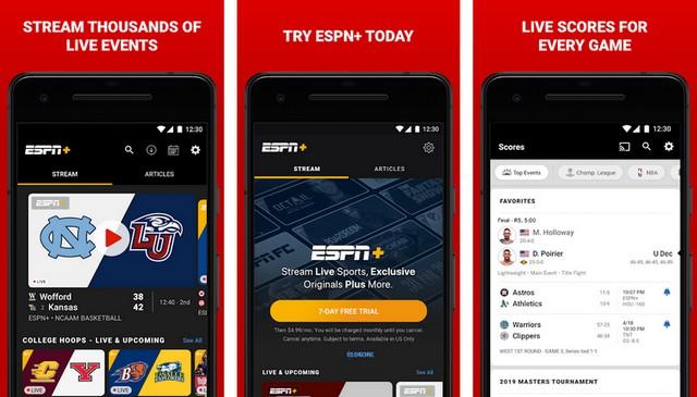 ESPN - Best Baseball App for Android