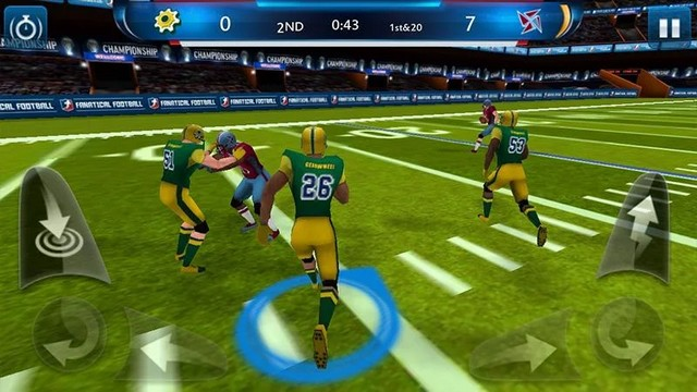Fanatical Football - Best NFL Game for Android