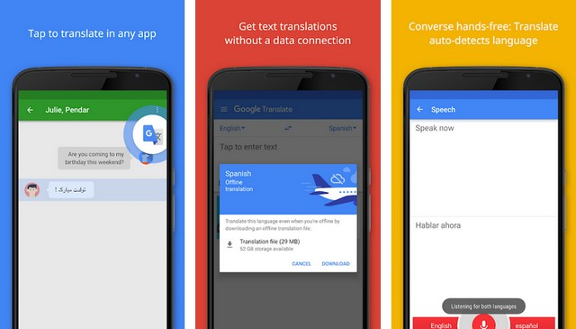 Google Translate - Best Translation App for Android