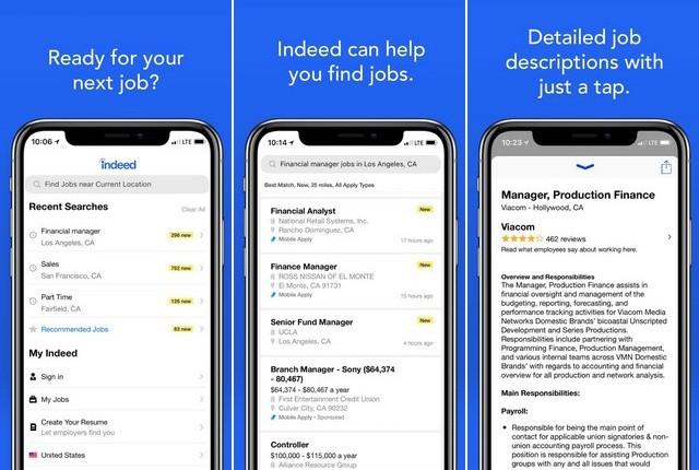 Indeed Job Search