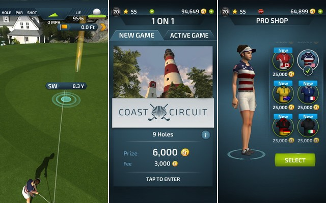 Pro Feel Golf - Best Golf Game for iPhone