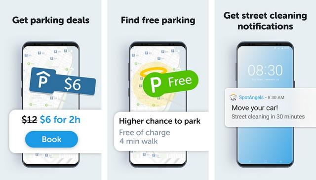SpotAngels - Best Car App for Android