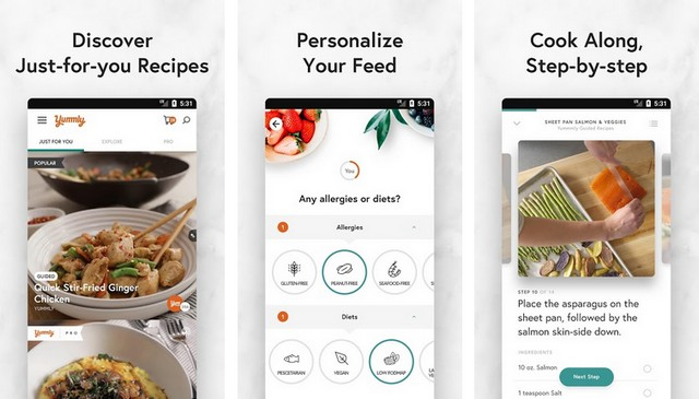 Yummly - Best Cooking App for Android