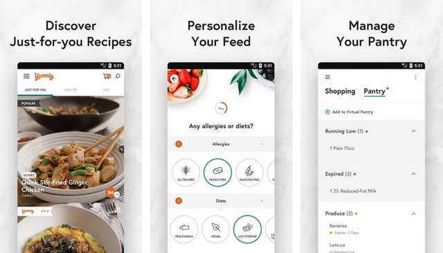Yummly - Best Meal Planning App