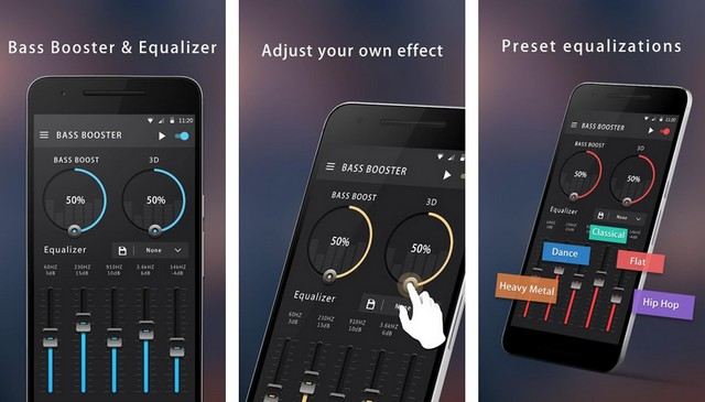 Bass Booster & Equalizer - Best App for Android