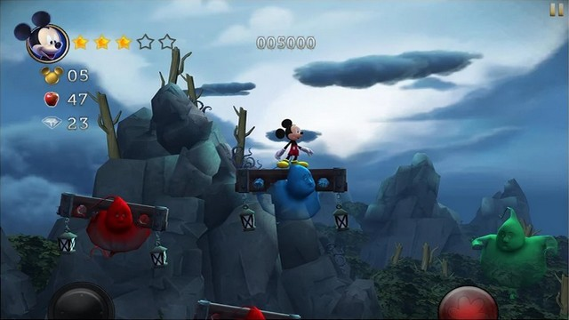 Castle of Illusion - Best Disney Game for Android