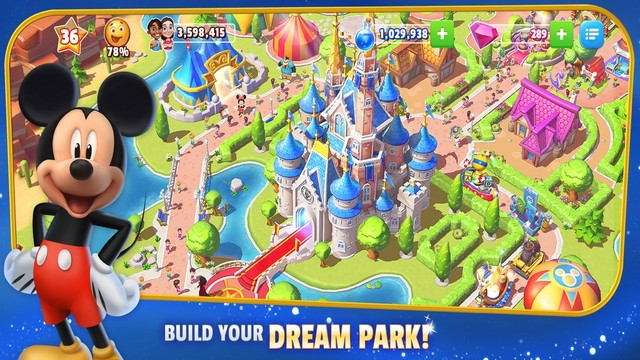 Disney Magic Kingdoms - Best Game for iPhone