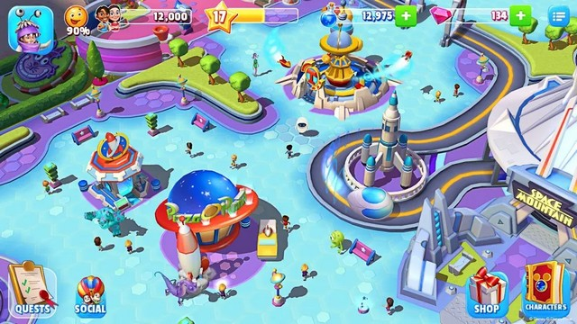 Disney Magic Kingdoms - Best Disney Game for Android