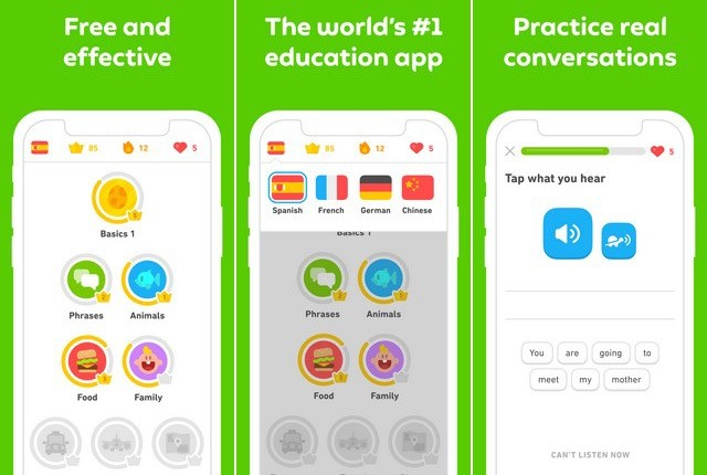 Duolingo - Best Language Learning App for iPhone