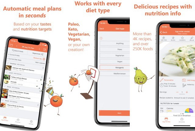 Eat This Much - best meal planning app