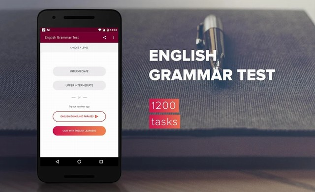English Grammar Test - Best App for Android