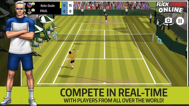 Flick Tennis Online - Best Tennis Game for iPhone