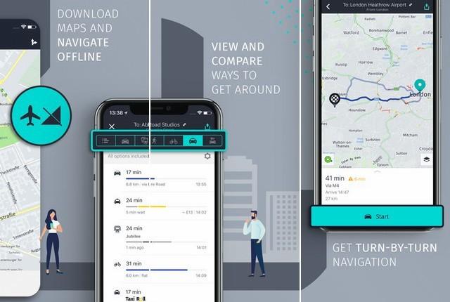 HERE WeGo - City Navigation