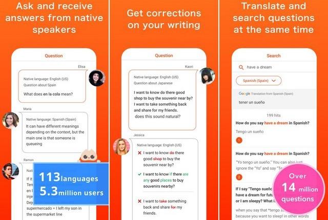 HiNative - Language Learning