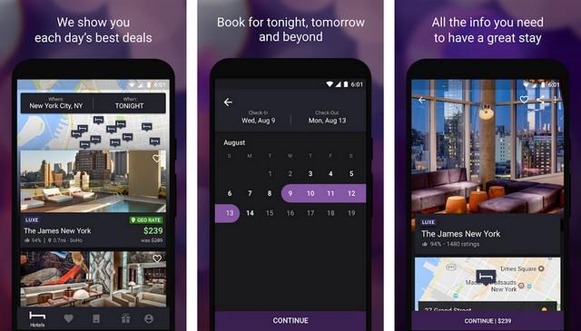HotelTonight - Best Hotel Booking App