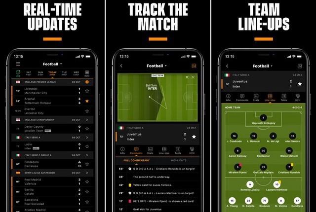 LiveScore - Best European Football App