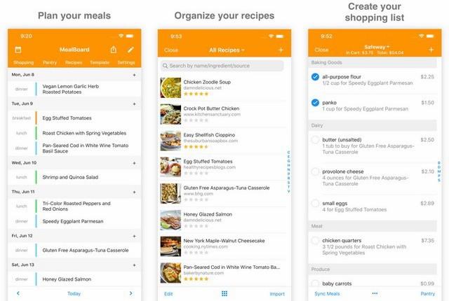 MealBoard - Meal Planner