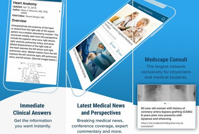 Medscape - Best Medical App for iPhone
