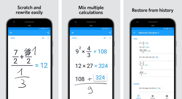 MyScript Calculator 2 - Best App for Android