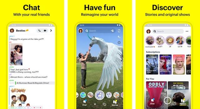Snapchat - Best Social Media App