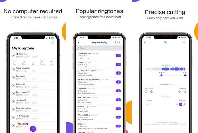 The Ring App - Ringtones Maker