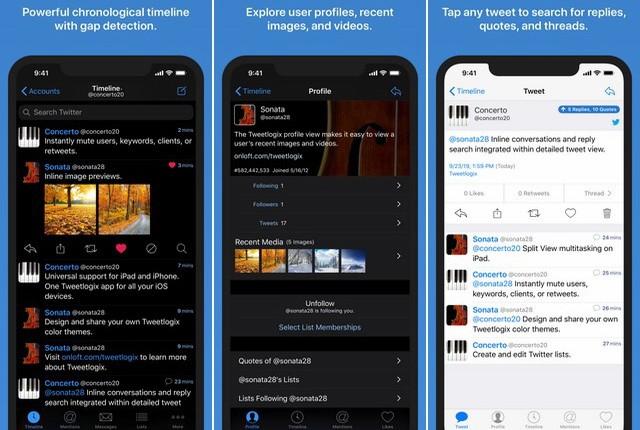 Tweetlogix for Twitter - Best Twitter App for iPhone