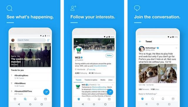 Twitter - Best Social Media App
