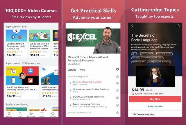 Udemy - Best iPhone App to Learn New Skills