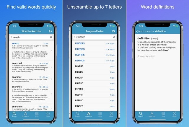 Word Lookup Lite - Best Dictionary App for iPhone